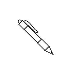 pen icon graphic design template vector image