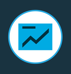 presentation icon colored symbol premium quality vector image