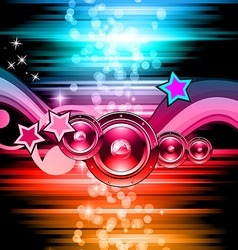 rayDISCOclub vector image