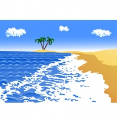 seascape vector image