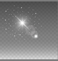 star on isolated background flash vector image