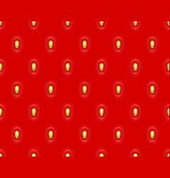 strawberry texture vector image