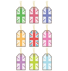 uk tags vector image vector image
