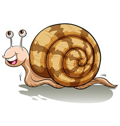 A slow snail vector