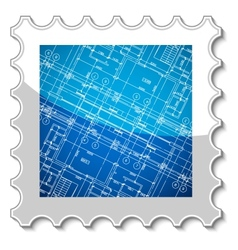 Best architecture stamp vector