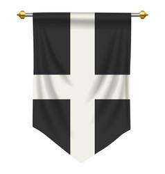 Cornwall pennant vector