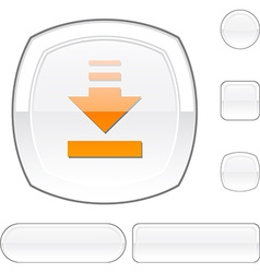 Download white button vector