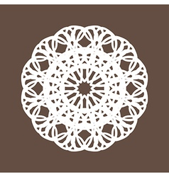 Round Lace Collection vector