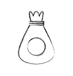 Sack bag symbol vector