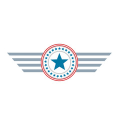 star united states america symbol logo vector image