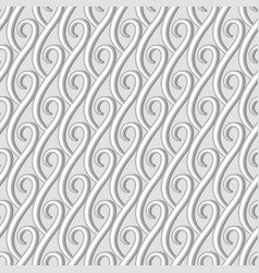 vintage seamless pattern in neutral color vector image