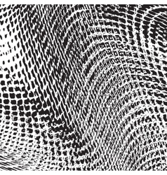 Grid Fabric Texture vector image vector image