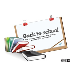Education Drawing Board vector image