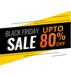 abstract modern black friday discount and sale vector image