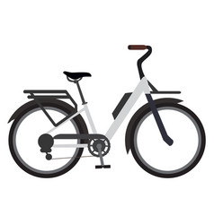 classic bicycle icon vector image