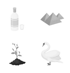 Ecology flora fauna and other web icon vector
