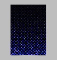 Geometric dot pattern brochure background template vector