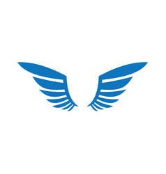 Wings logo concept vector