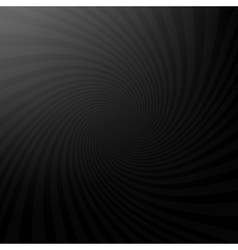 twisted rays dar background vector image
