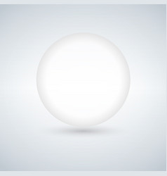 glass ball with gradient mesh vector image