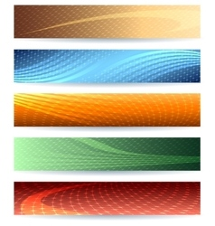 Abstarct Background Set vector image vector image