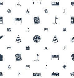 Event icons pattern seamless white background vector