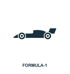Formula 1 icon premium style icon design ui vector