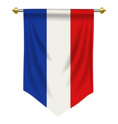 France pennant vector