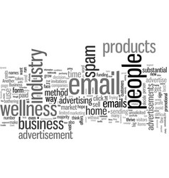 Is email advertisements a business vector