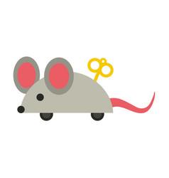 Joke mouse toy vector