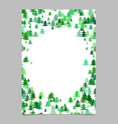 modern random christmas design stationery vector image