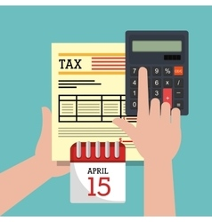 Taxes payday graphic vector