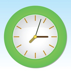 Cartoon Wall Clock vector image