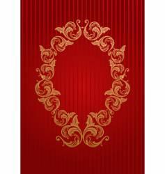 royal wallpaper vector image vector image
