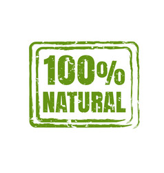 100 natural product vector image