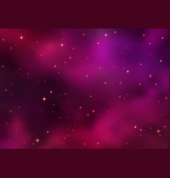 Abstract cosmic pink galaxy background vector