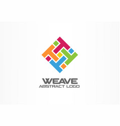 Abstract logo for business company corporate vector