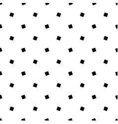 Angular black and white seamless square pattern vector