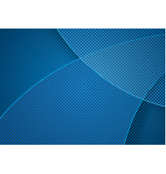 blue abstract background and grid pattern vector image