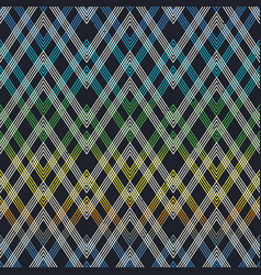 cloth geometric seamless pattern vector image