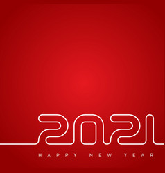 Happy new year 2021 cover calendar vector