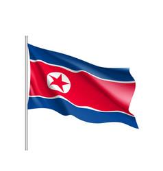National flag of korea republic vector