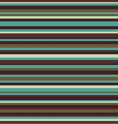 Retro seamless stripe pattern vintage colors vector image