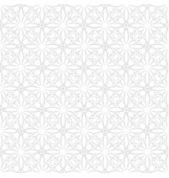 seamless pattern in geometric ornamental style vector image