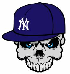 Yank skully vector