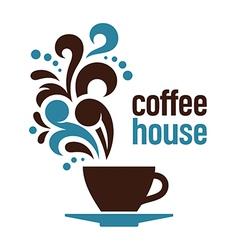 Coffee house vector image