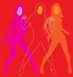 lets dance vector image