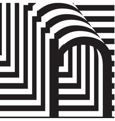 letter n design template vector image
