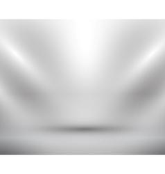 blank light room white vector image