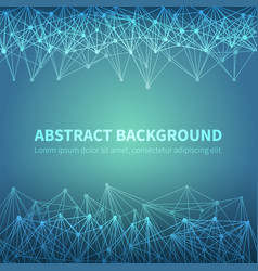abstract geometric chemical scientific vector image
